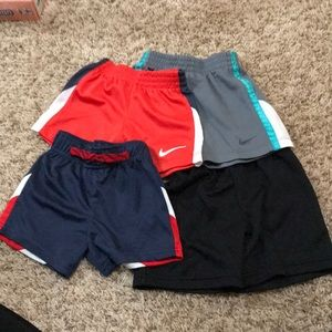 4 pairs infant boy's athletic shorts